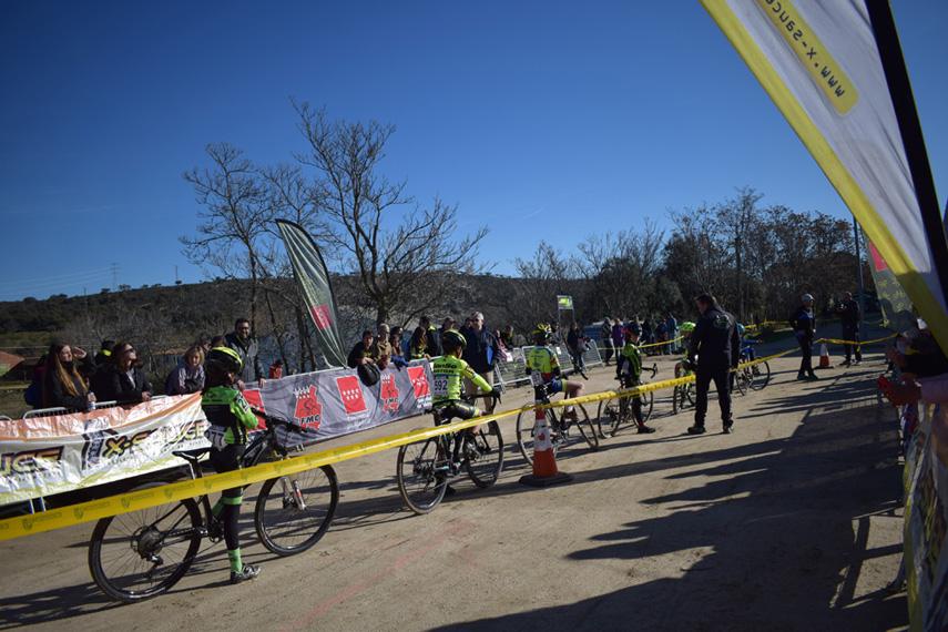 Restricciones de acceso a los Campeonatos de Madrid de ciclocross Escolares