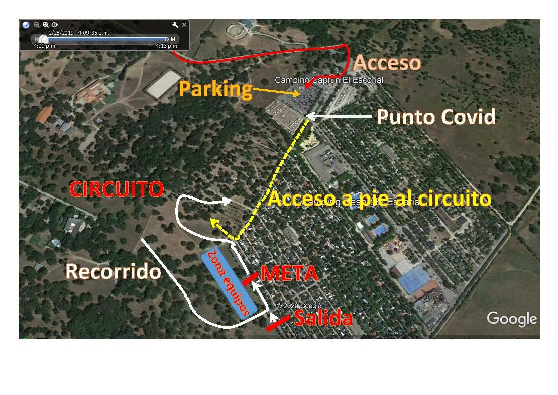 Más medidas restrictivas en relación a los Campeonatos de Madrid de ciclocross Escolar