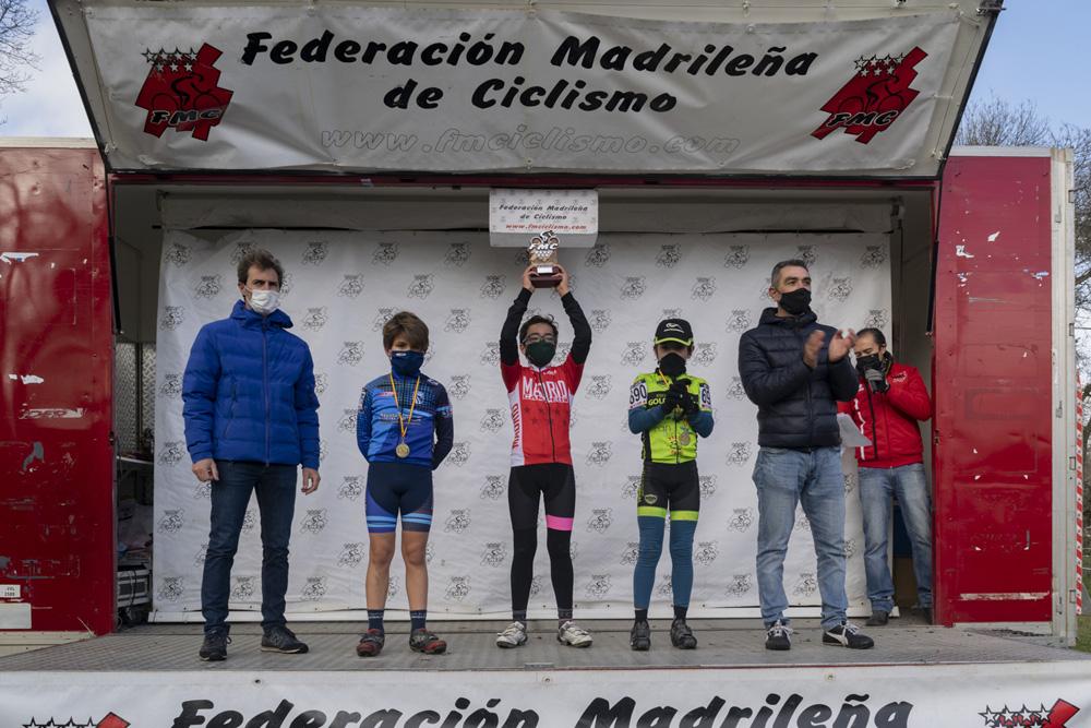 Lorena Molero, Rodrigo Sánchez, Celia Romo y Jaime Sánchez, nuevos campeones de Madrid de ciclocross Escolar (ACTUALIZADA)