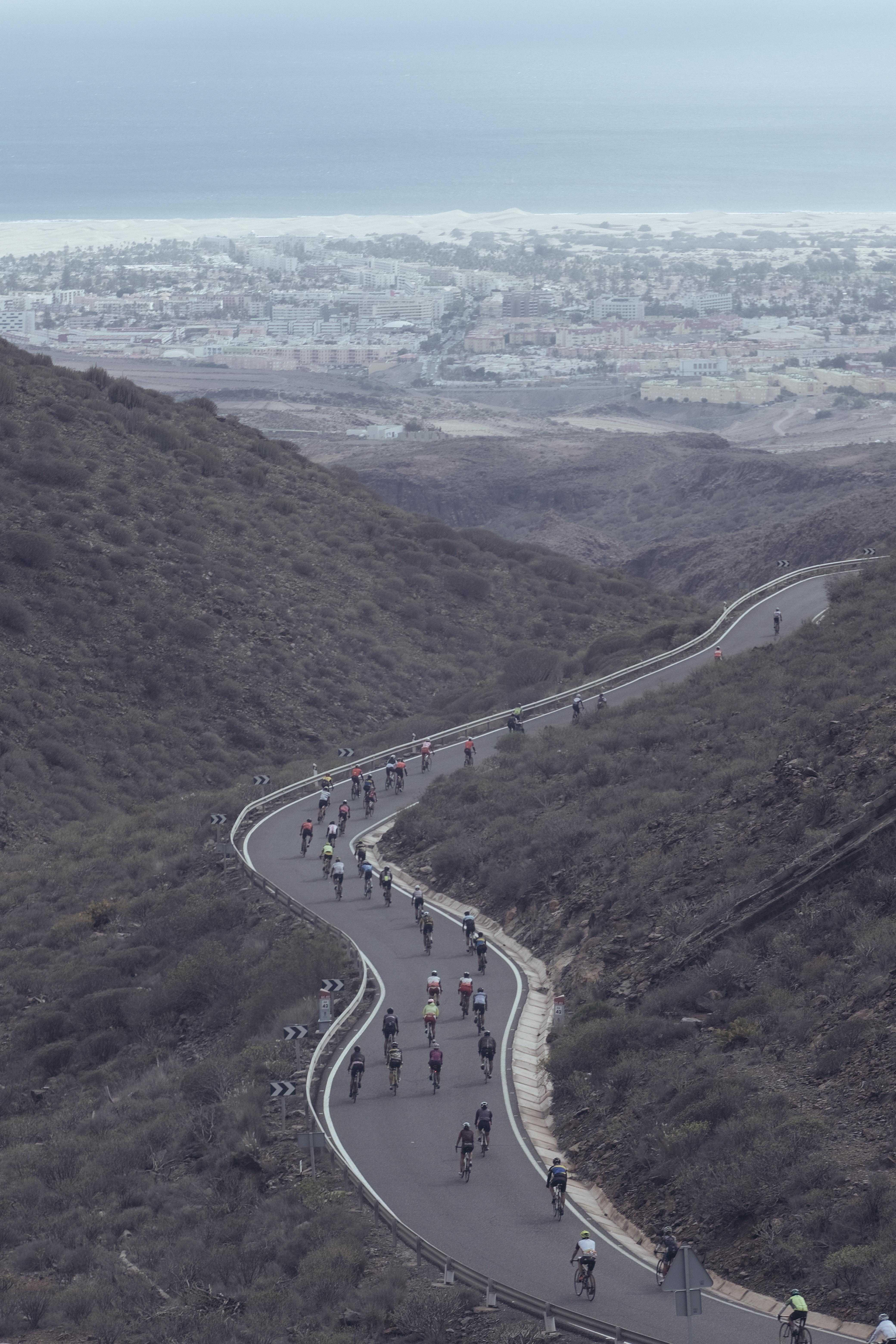 Maspalomas, Santa Lucía, Tunte y Fataga abrieron la Gran Canaria Bike Week