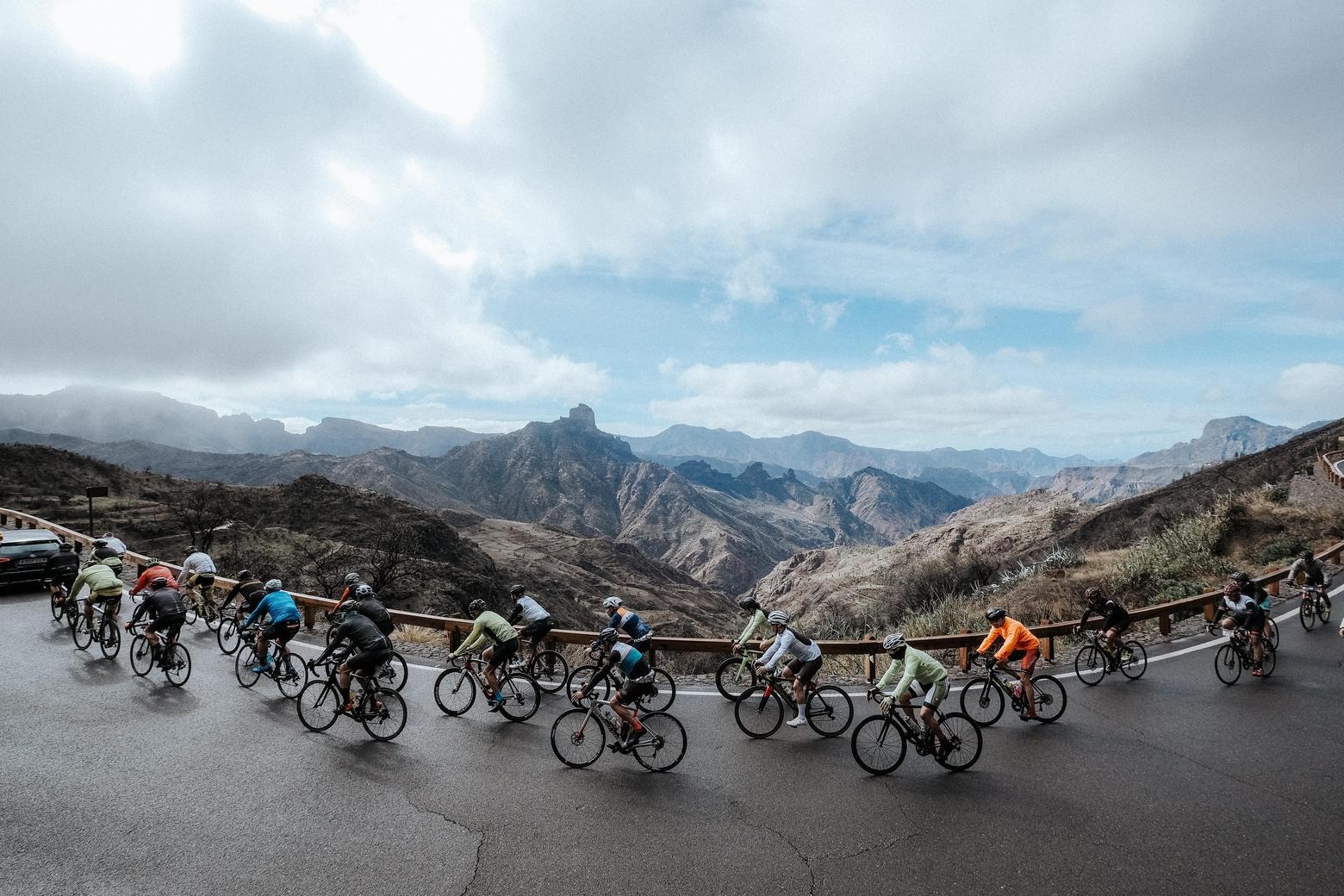Un etapa de las que marcan época, en tercer dia de la Gran Canaria Bike Week