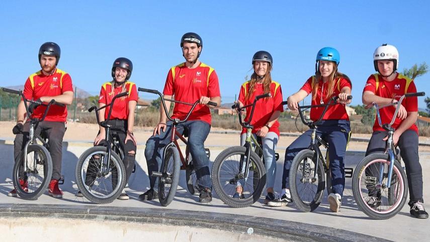 Los-riders-de-BMX-Freestyle-finalizan-su-concentracion-de-Alto-Rendimiento-y-Tecnificacion-