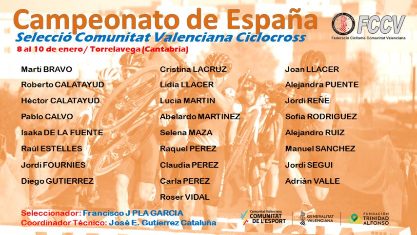 La-FCCV-llevara-25-ciclistas-al-Campeonato-de-Espana-de-ciclocros-de-Torrelavega