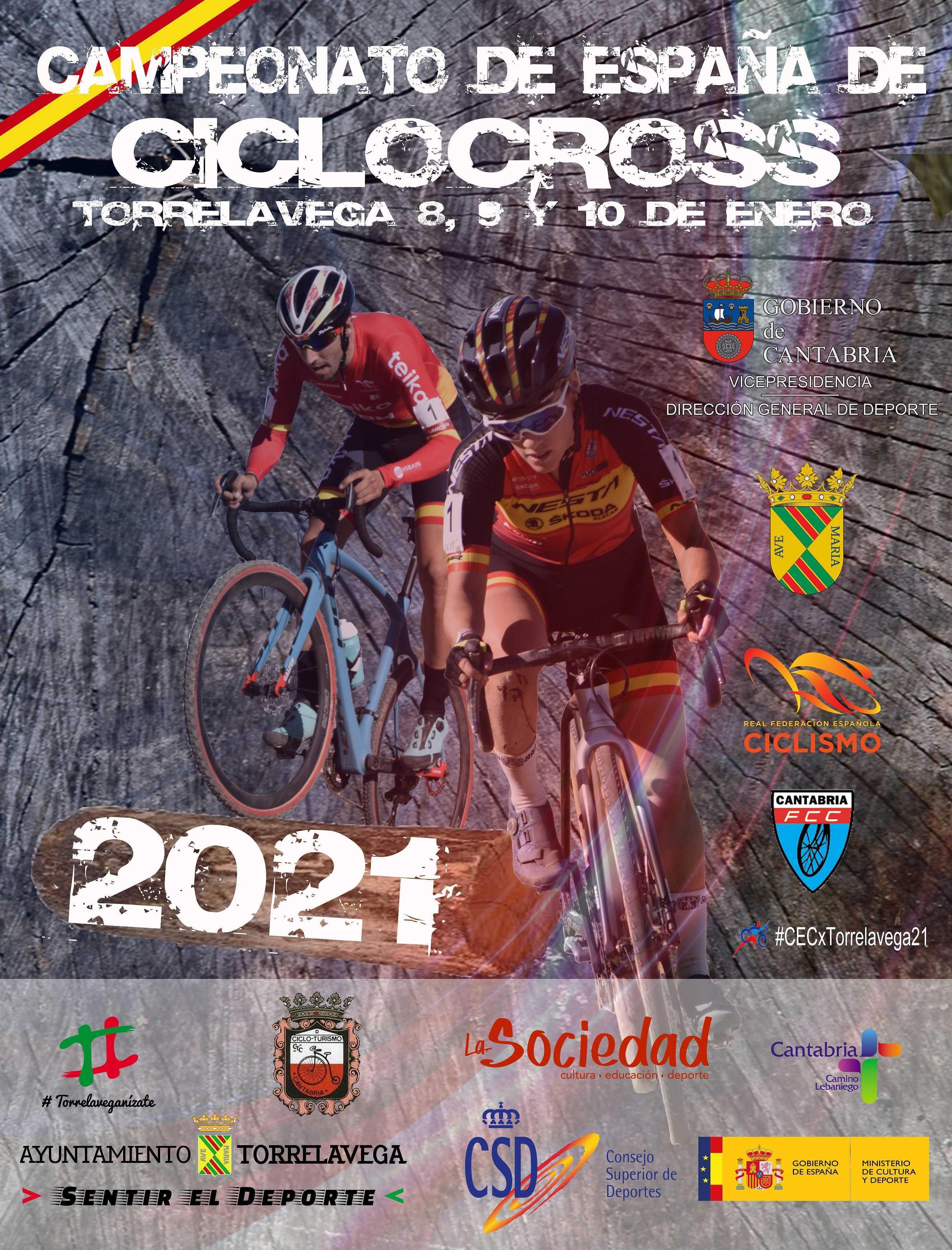 La Selección Madrileña de ciclocross, con toda la ilusión del mundo para los Campeonatos de España