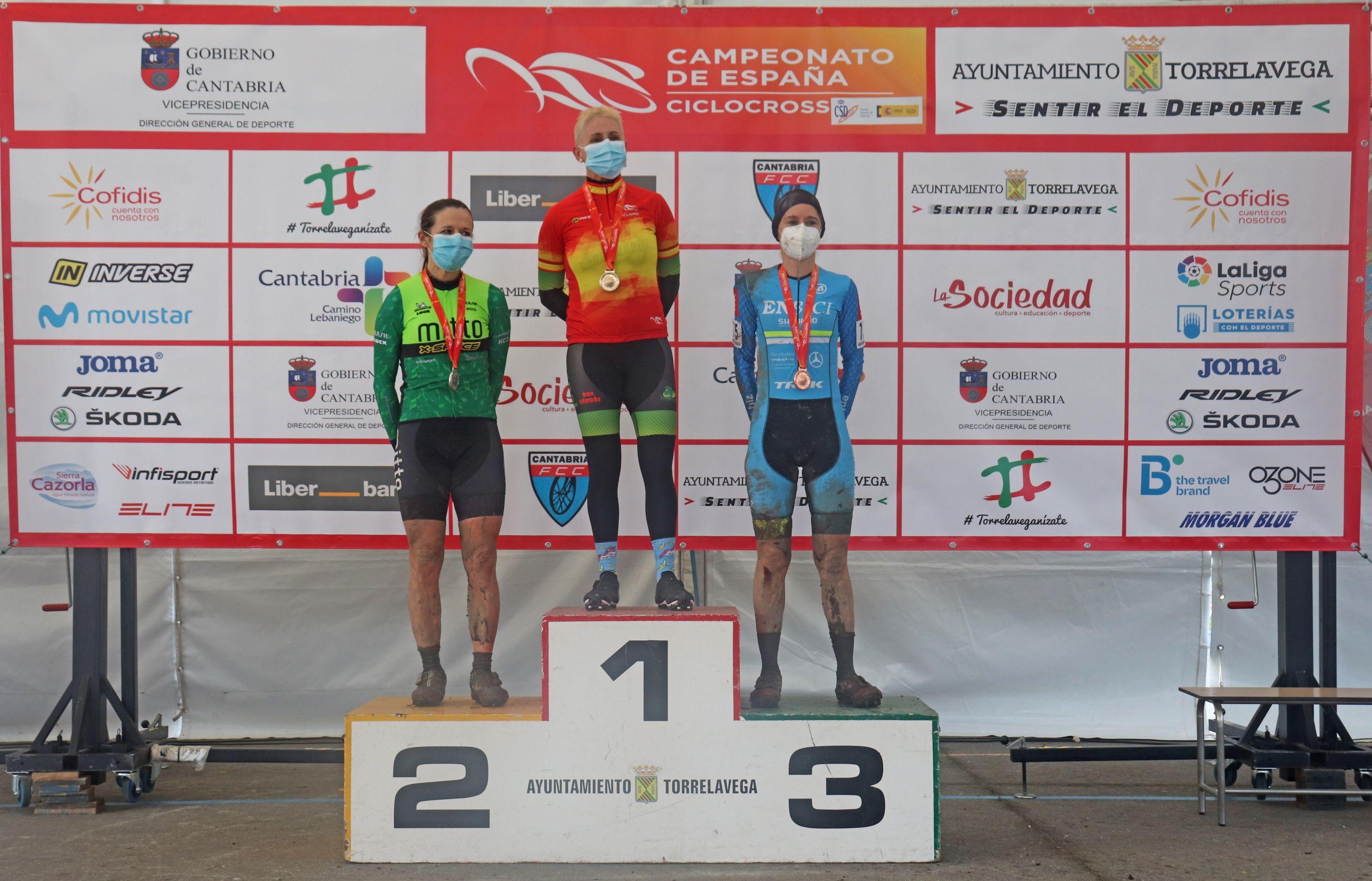 Cataluña y Galicia, grandes triunfadoras de la 1ª jornada del nacional de ciclocross 2021
