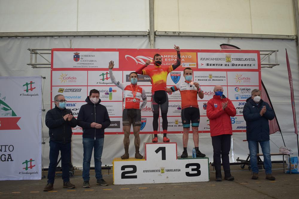 Las mangas máster masculinas otorgan cuatro medallas más al ciclocross madrileño