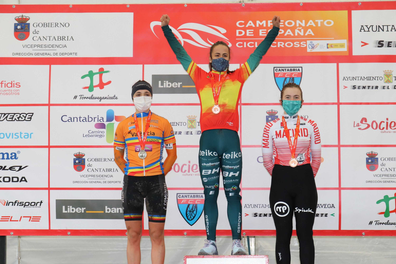 Orts y González reeditan en Torrelavega sus títulos de campeones de España de ciclocross