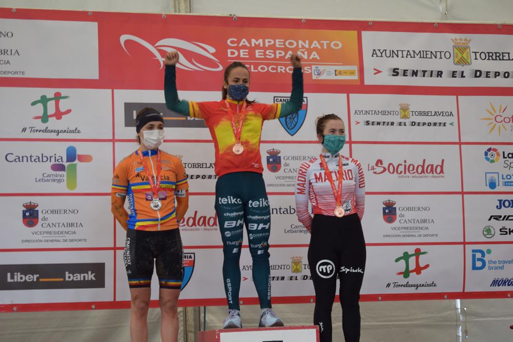 Feliz regreso de María Parajón al podio, con un merecido bronce sub23 en el barro de Torrelavega (ACTUALIZADA)