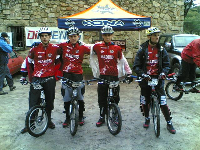 CLUBES MADRILEÑOS CON SOLERA. Conoce al Club Ciclista Trial Zona Centro
