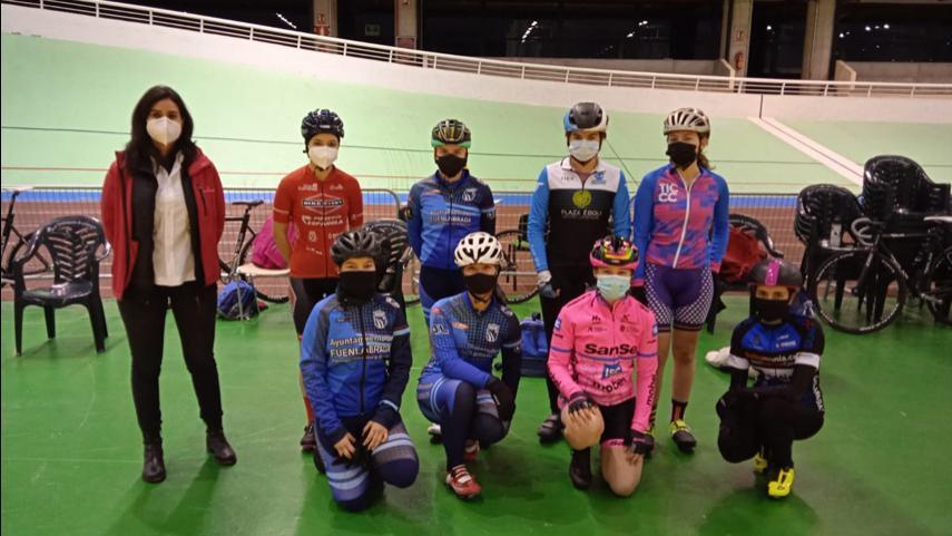 Las-Comisiones-de-feminas-y-de-pista-ya-trabajan-con-las-juniors-y-cadetes-de-ruta