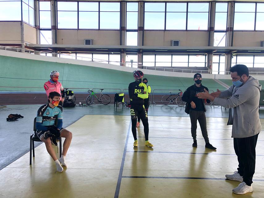 Prosigue el trabajo en Galapagar de la Selección Madrileña de Ciclismo Adaptado