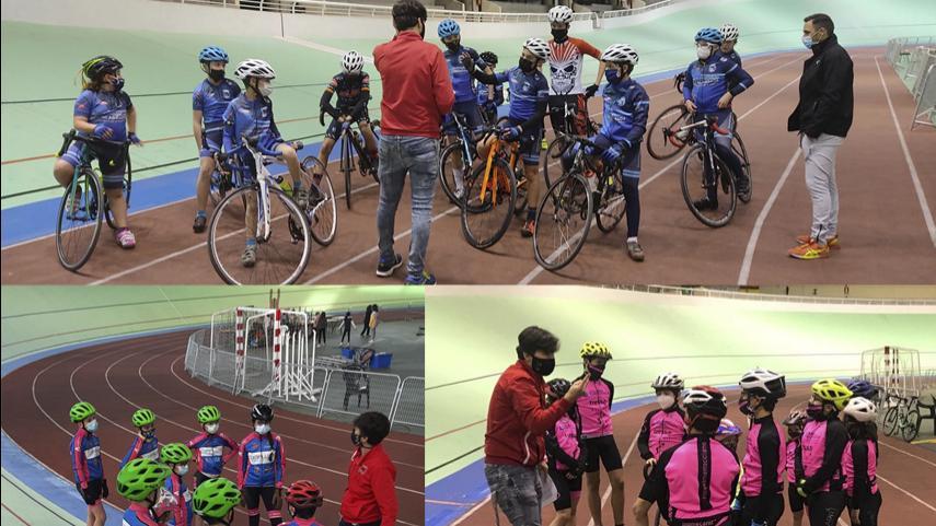 UC-Fuenlabrada-Entrenamiento-Ciclismo-y-EC-Magro-probaron-la-pista-en-Galapagar