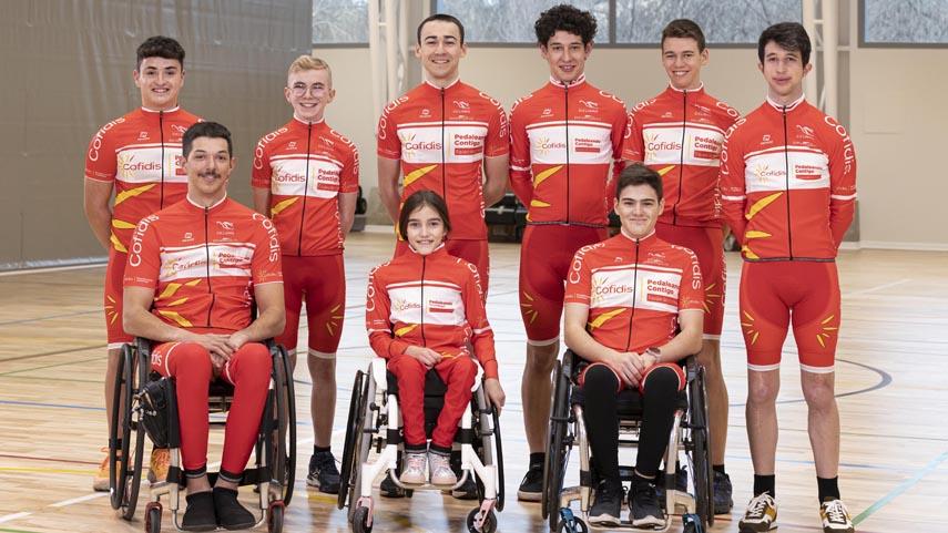 El-futuro-del-paraciclismo-espanol-echa-a-rodar-en-el-Equipo-Cofidis-de-Promesas-Paralimpicas