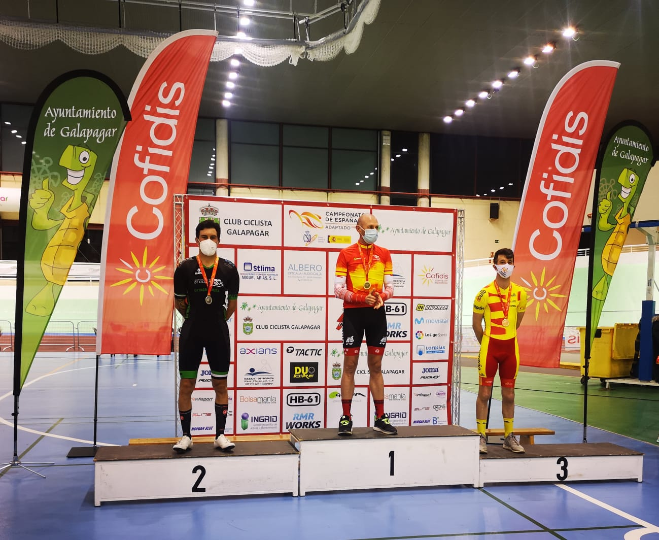 Juan Alberto Jiménez ha logrado la medalla de bronce
