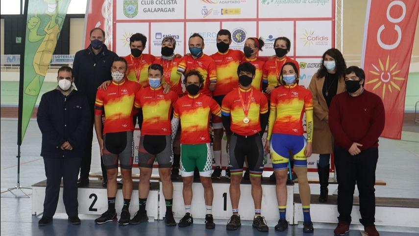 Galapagar-finaliza-con-exito-el-Campeonato-de-Espana-de-Ciclismo-Adaptado-en-Pista-2021