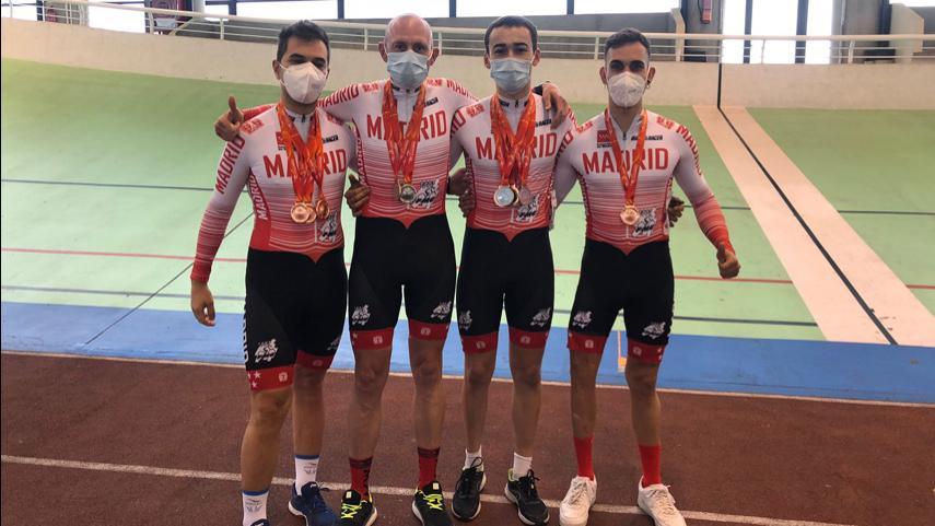 Sobresaliente-papel-de-la-Seleccion-Madrilena-de-Ciclismo-Adaptado-en-los-Nacionales-de-pista