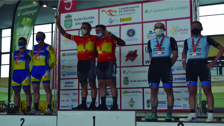 El-equipo-Hyundai-Koryo-Car-suma-17-medallas-en-los-Nacionales-de-ciclismo-adaptado-en-pista
