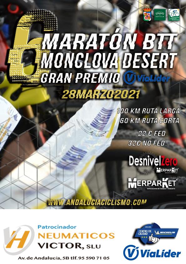 La 'Monclova Desert' reactivará el BTT en la provincia de Sevilla