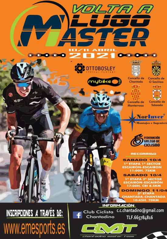 O calendario de estrada autonómico ponse en marcha coa Volta a Lugo Máster