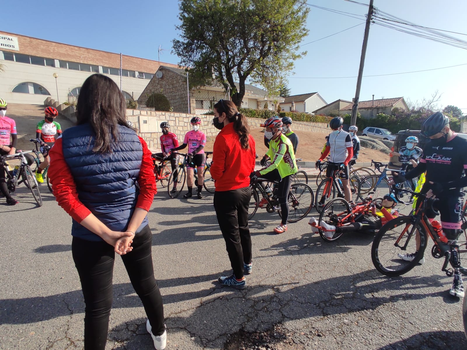Nuevo entrenamiento inclusivo de las Comisiones de Féminas y Ciclismo Adaptado