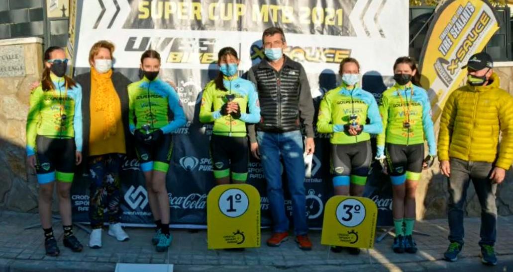 La Super Cup MTB Kids de Valdemanco exhibe el potencial de la Escuela Golpe de Pedal
