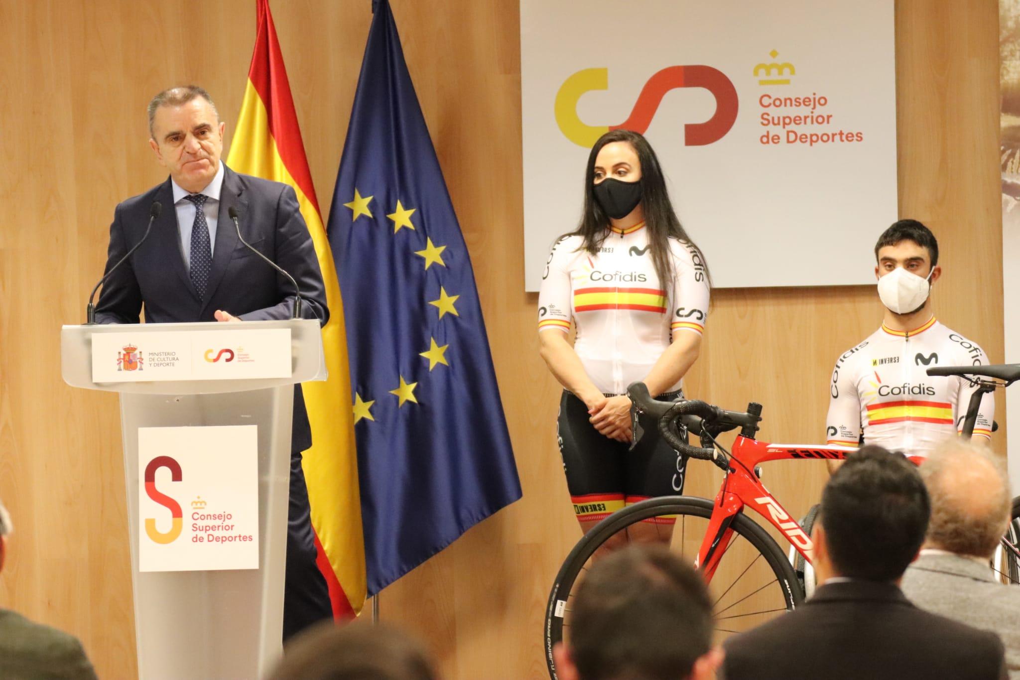 La RFEC presenta en el Consejo Superior de Deportes su proyecto Bike Territory
