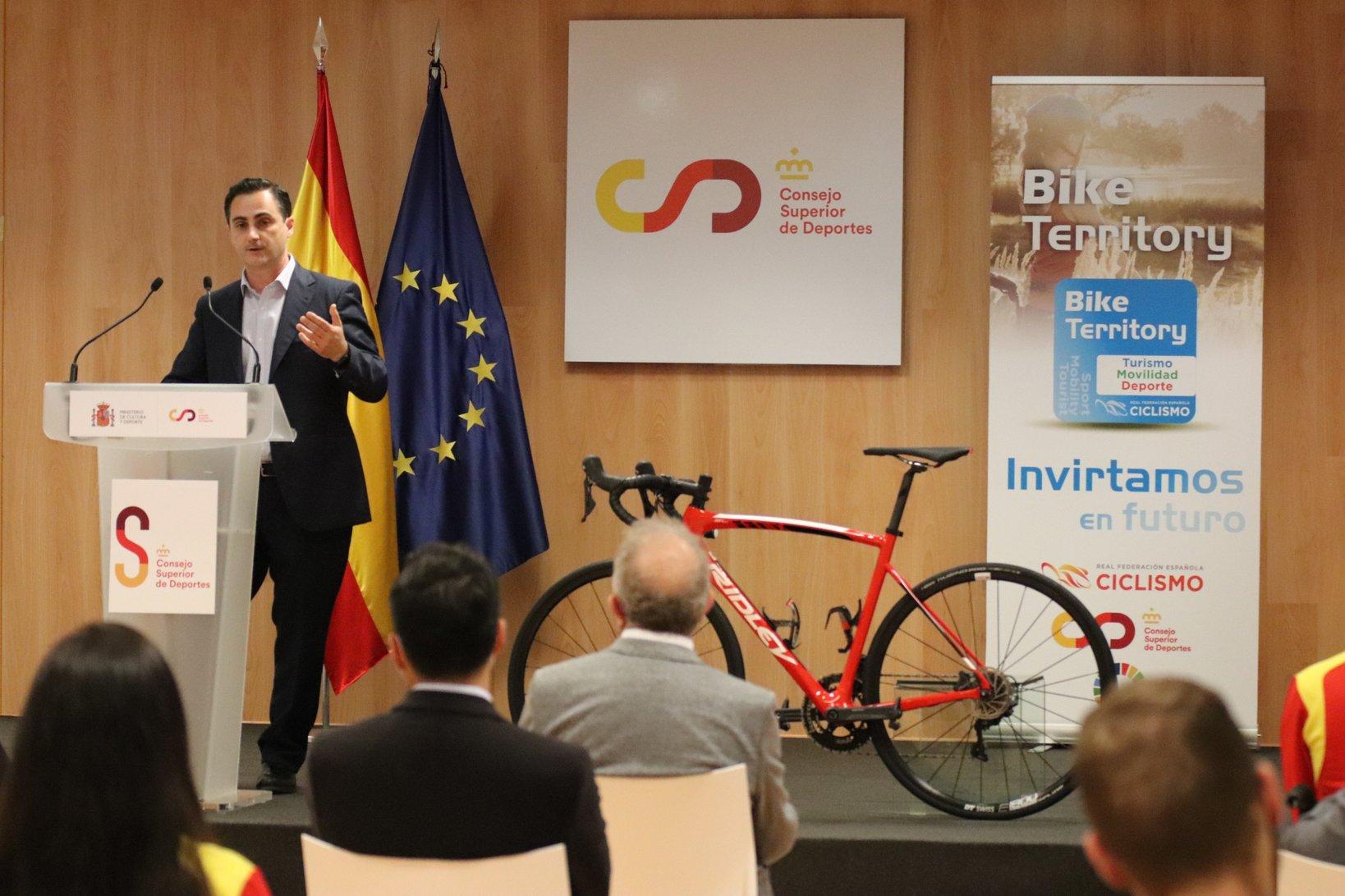 La RFEC, junto a la Federación Andaluza de Ciclismo, presenta el proyecto Bike Territory
