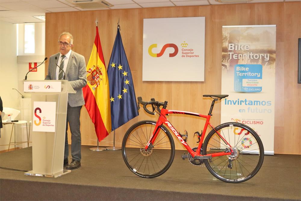 La RFEC, junto a la FMC, presenta el proyecto Bike Territory