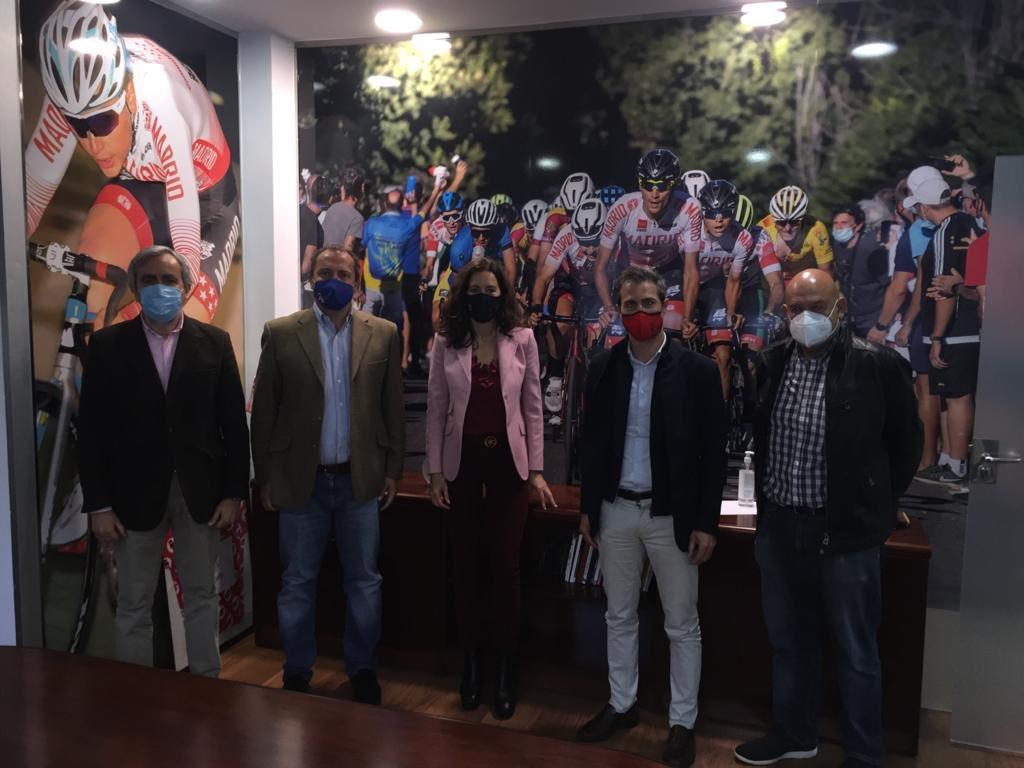 La FMC  recibió la visita de la Consejera de Presidencia de la Comunidad d Madrid
