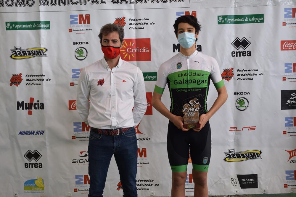 Galapagar coronó a 8 campeones de Madrid de pista cadete y junior (ACTUALIZADA)