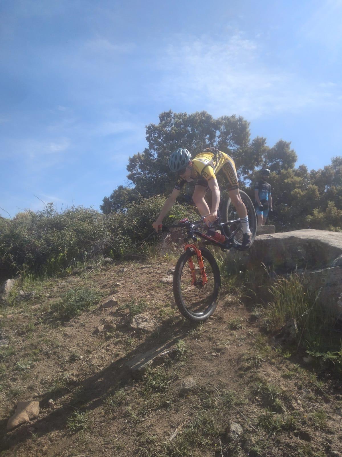 Alpedrete acogió la tecnificación en XCO para bikers sub23 y junior masculino