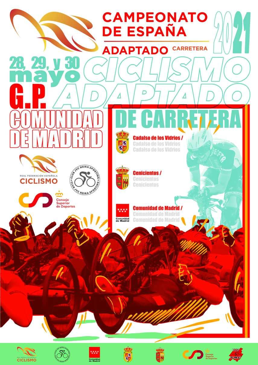 Cadalso de los Vidrios y Cenicientos, sedes de los Campeonatos de España de paraciclismo en carretera 2021-Gran Premio Comunidad de Madrid