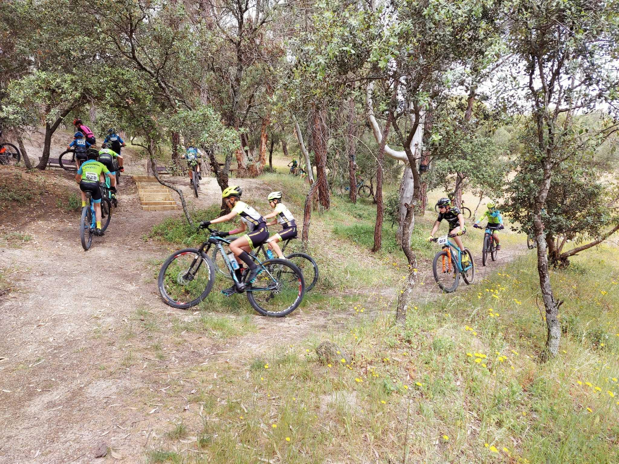 Los bikers infantiles iniciaron su preparación para los Campeonatos de España Escolares