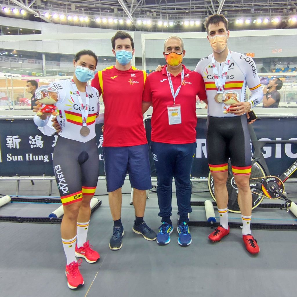 Cuatro medallas para la Selección Española en la 2ª jornada de Copa de las Naciones de Pista