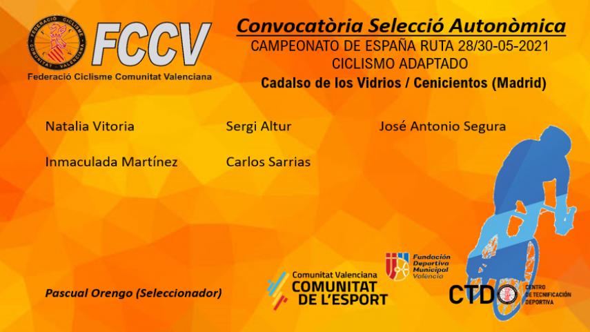 Ciclismo-adaptado-Seleccion-autonomica-para-el-Campeonato-de-Espana-de-ruta-en-Madrid