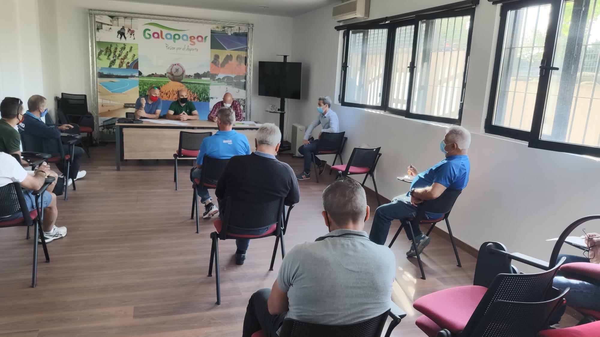 Celebrada en Galapagar la reunión de organizadores de carreras de ciclocross para la próxima temporada
