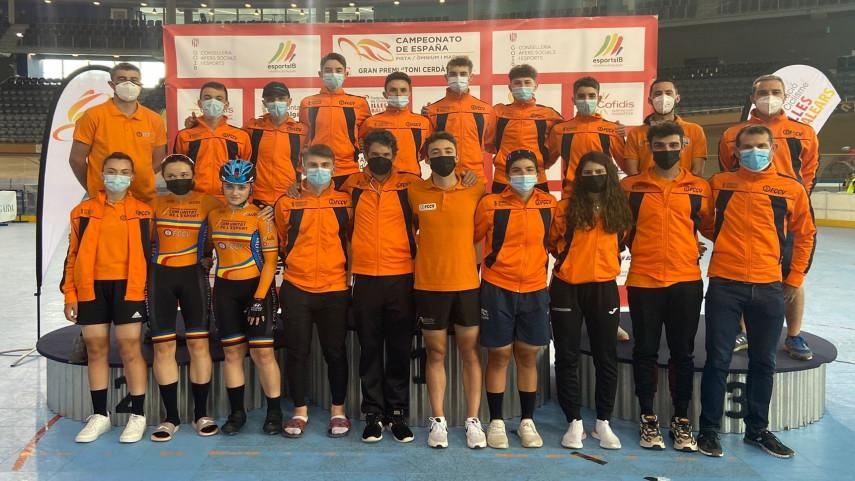 La-Comunitat-Valenciana-logra-ocho-medallas-en-los-Nacionales-de-Pista-de-Palma-de-Mallorca