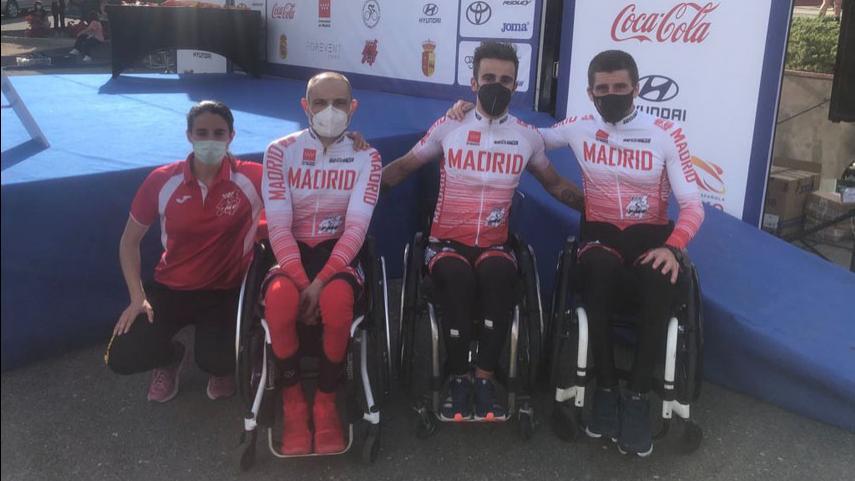Cinco-medallas-para-la-Seleccion-Madrilena-en-unos-Nacionales-de-Ciclismo-Adaptado-marcados-por-la-tragedia