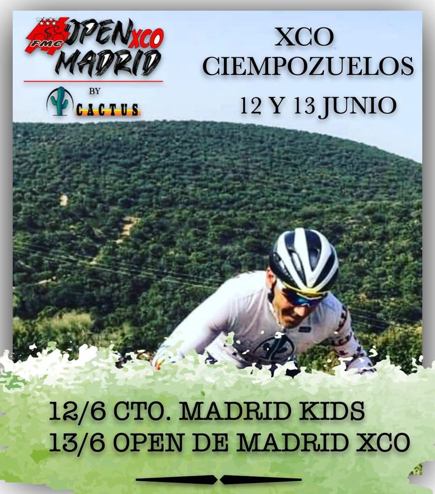 Arranca el renacido Open de Madrid de XCO en Ciempozuelos el 12 y 13 de Junio