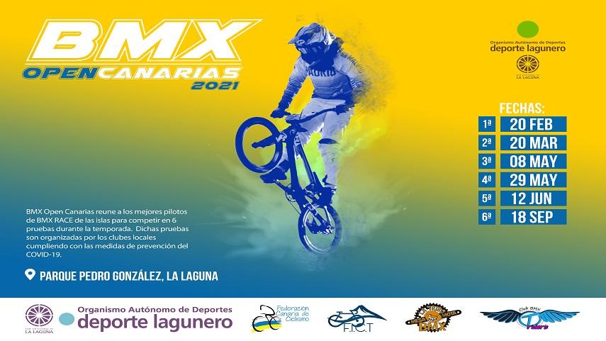 Clasificaciones  5ªPrueba Open de Canarias BMX