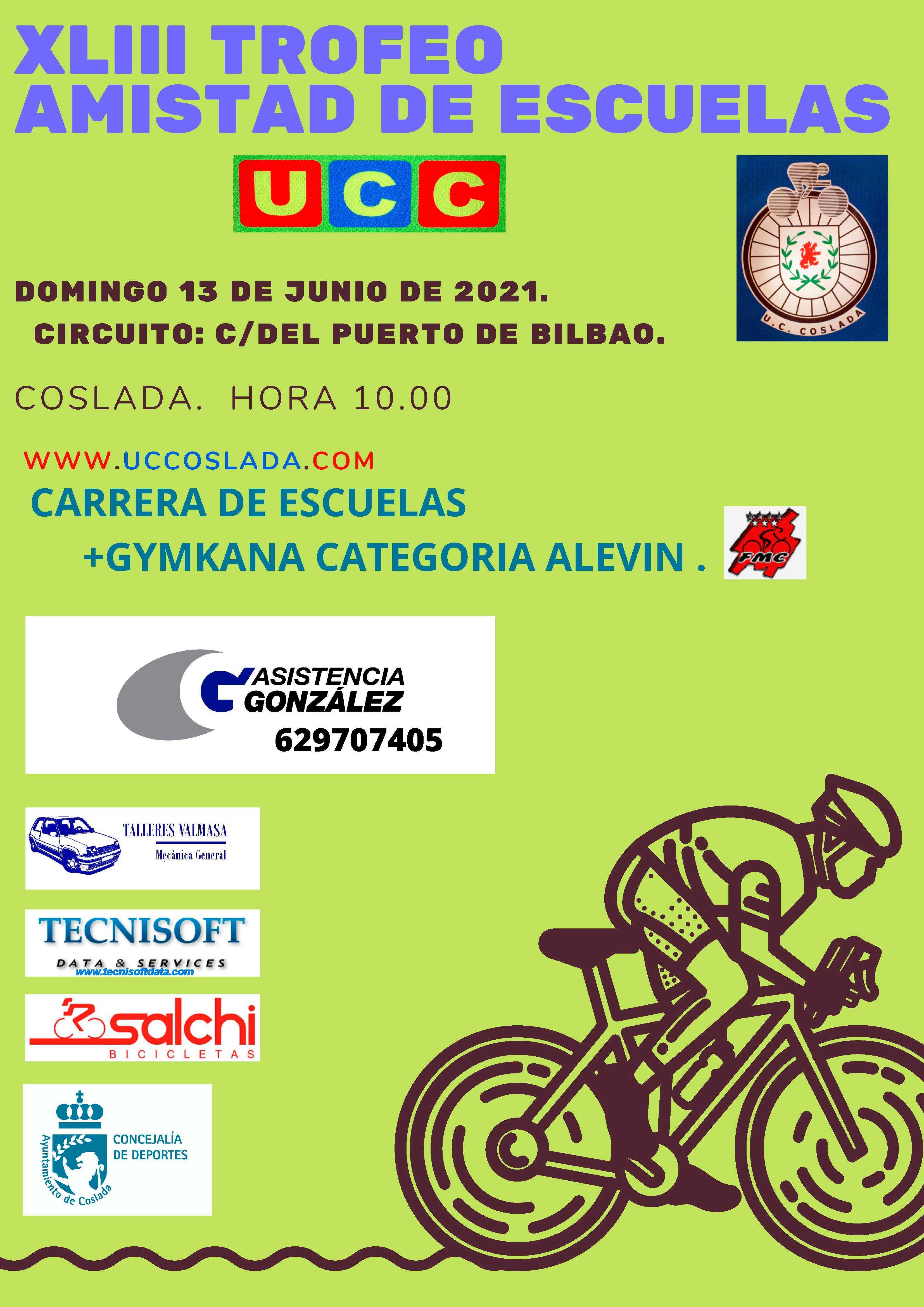El calendario madrileño escolar de ruta desembarca en el clásico XLIII Trofeo Amistad de Escuelas (ACTUALIZADA)