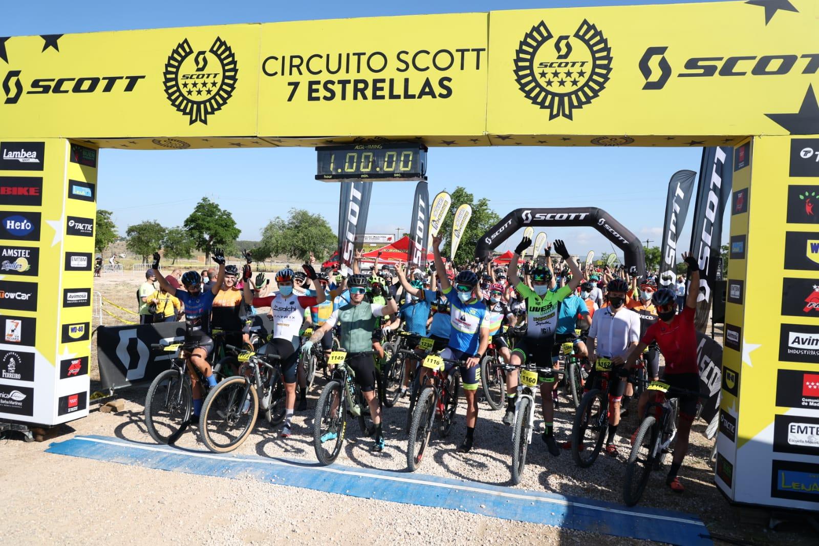 El Circuito Scott 7 Estrellas arrasó en Chinchón