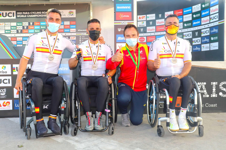 La Selección Española, subcampeona del mundo de Team Relay en Cascais