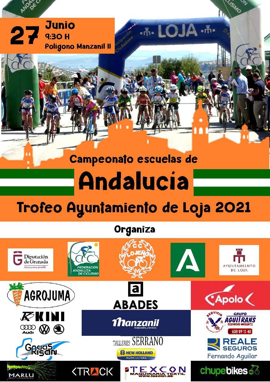 Apertura de inscripciones para el Campeonato de Andalucía Carretera Escuelas 2021
