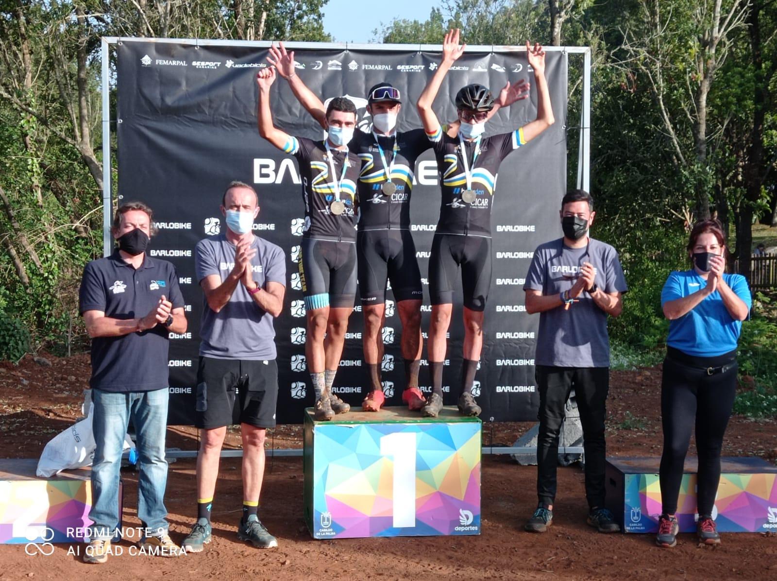 Clasificacion del Campeonato de Canarias XCO-Barlobike