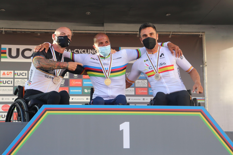 La Selección Española de Ciclismo Adaptado cierra un inolvidable Mundial de Cascais con 13 medallas