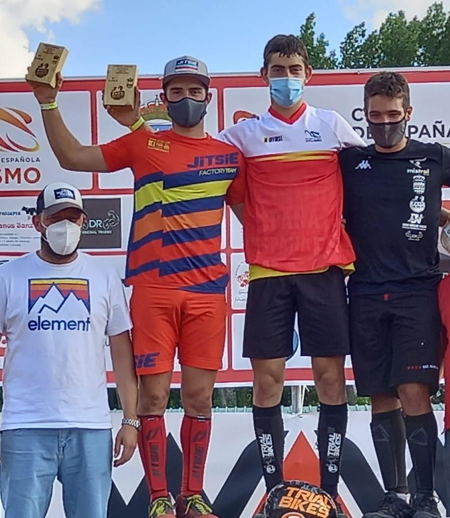 Magnífico balance del trial madrileño en la segunda puntuable de la Copa de España en Guadalix de la Sierra