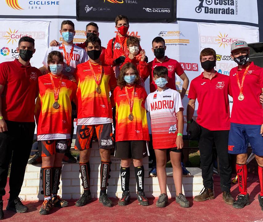 Configurada la Selección Madrileña de Trial para los Campeonatos de España de Torredembarra