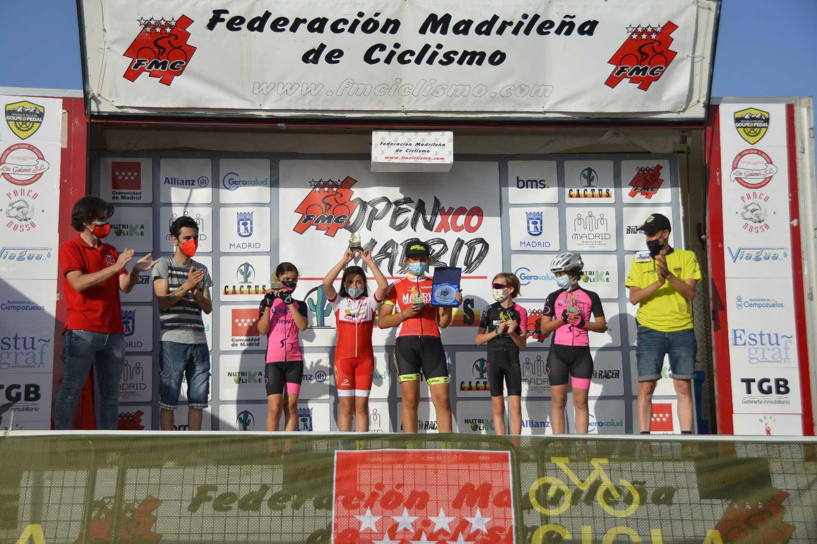 Ciempozuelos coronó a los nuevos campeones de Madrid Escolares de BTT