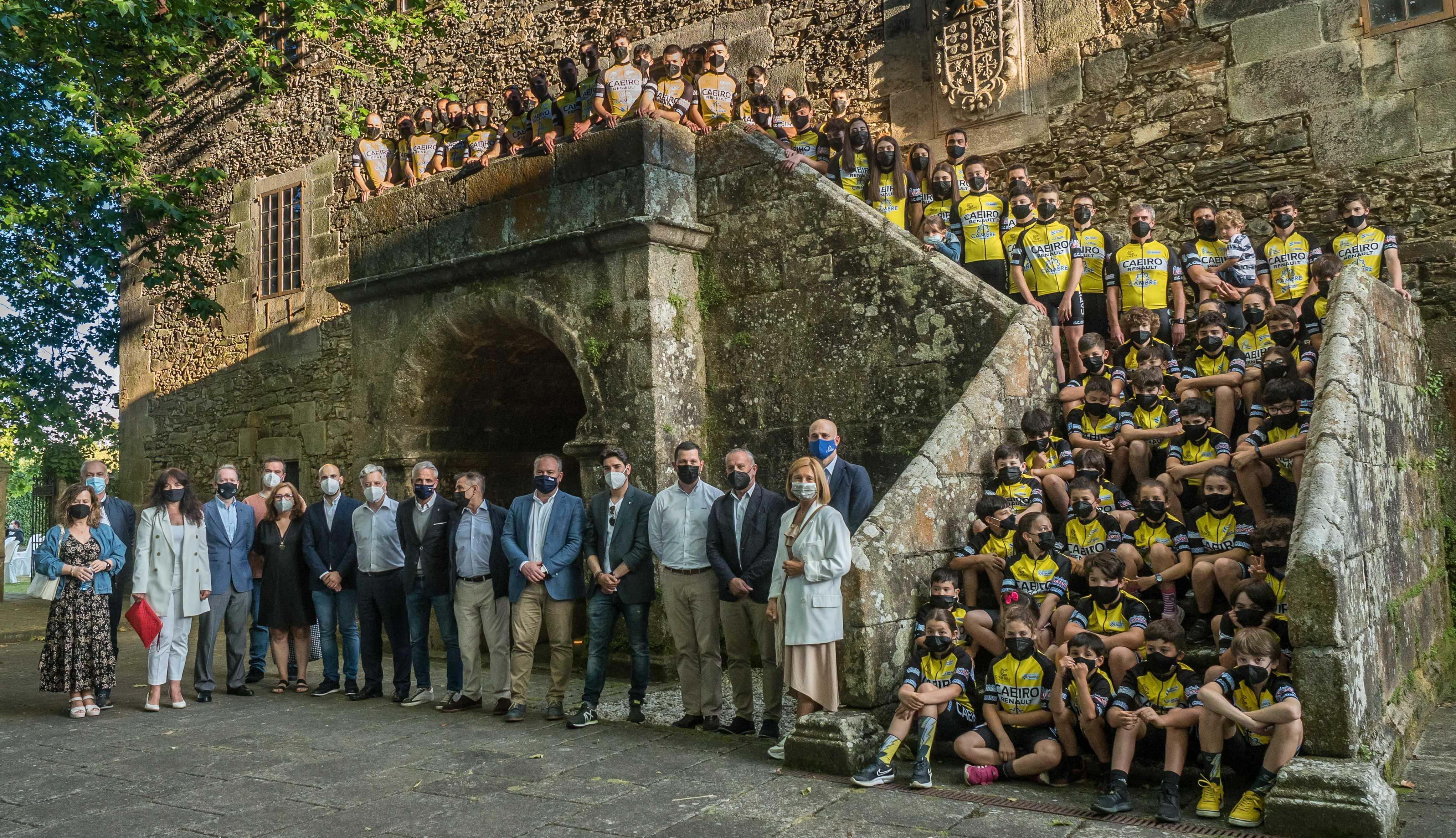 Presentación do Club Ciclista Cambre-Caeiro